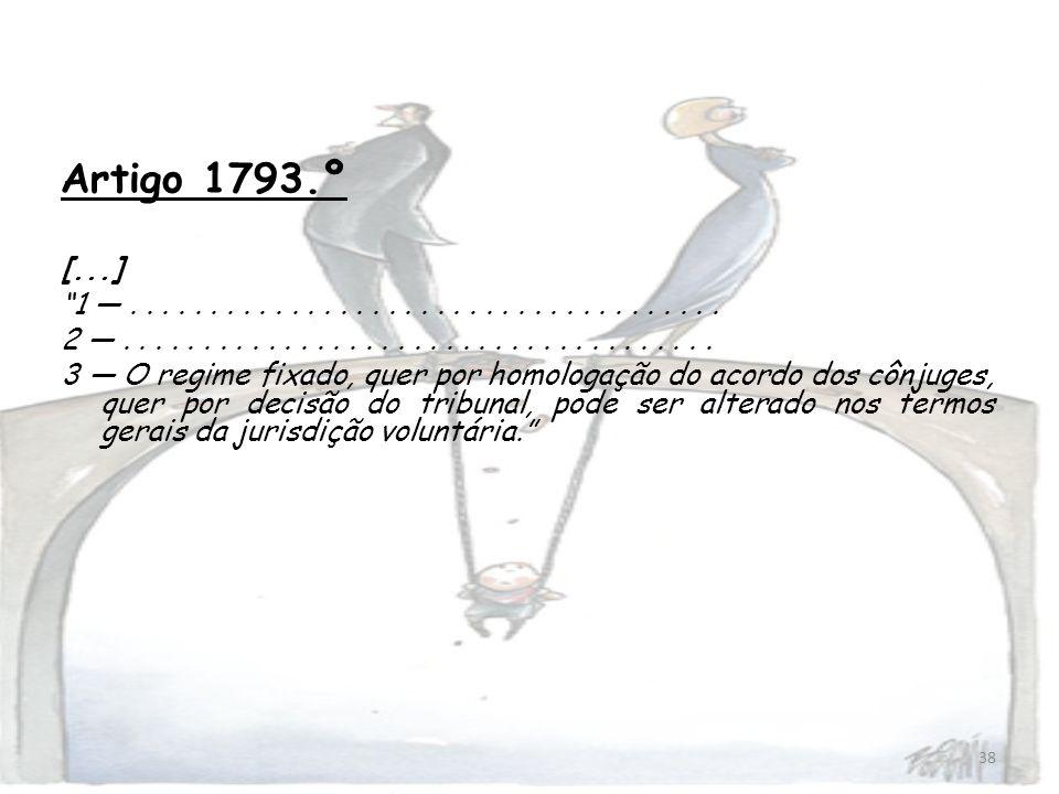 Artigo 1793.º [...] 1 — . . . . . . . . . . . . . . . . . . . . . . . . . . . . . . . . . . . . .